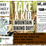 Kids Mountain Bike Day Flyer