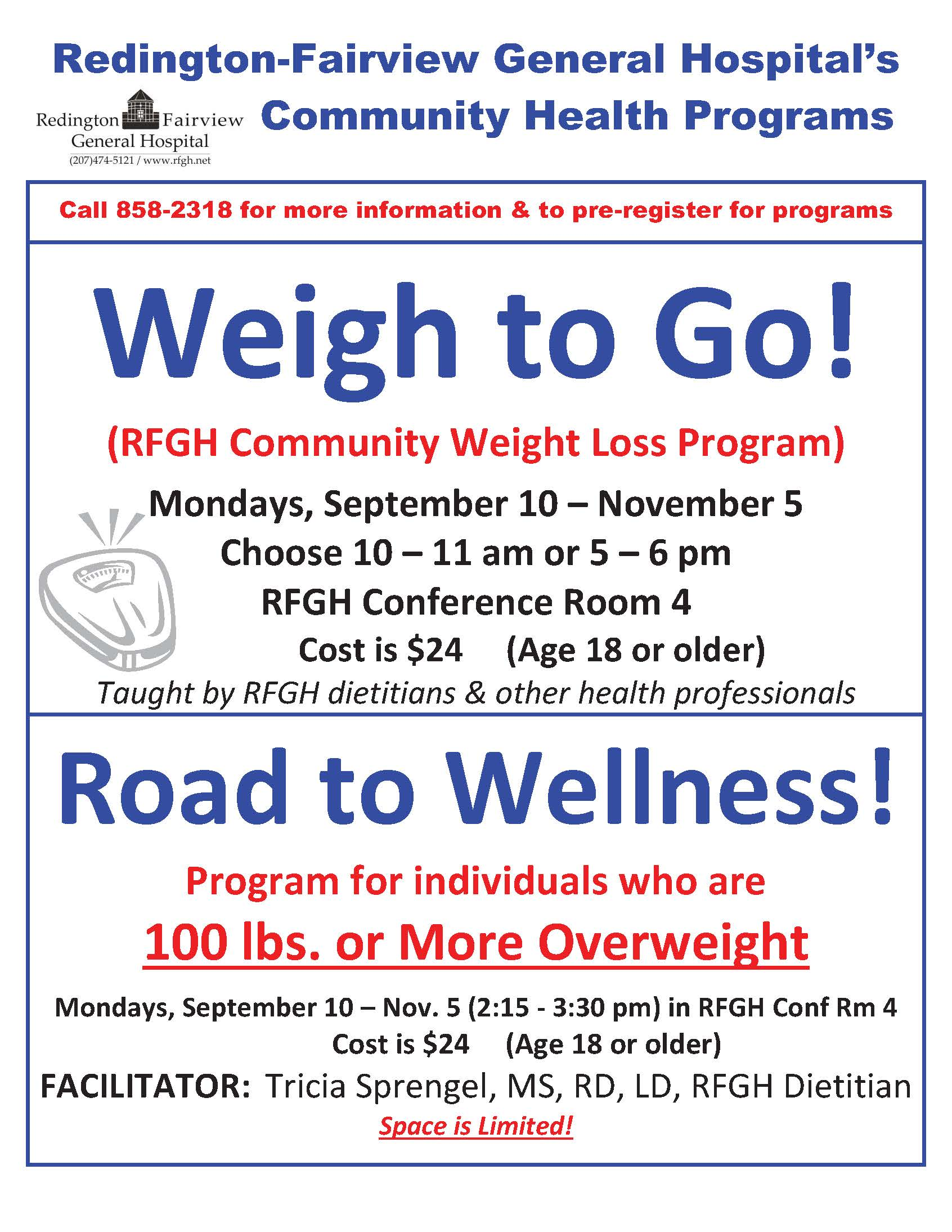 Weigh to Go