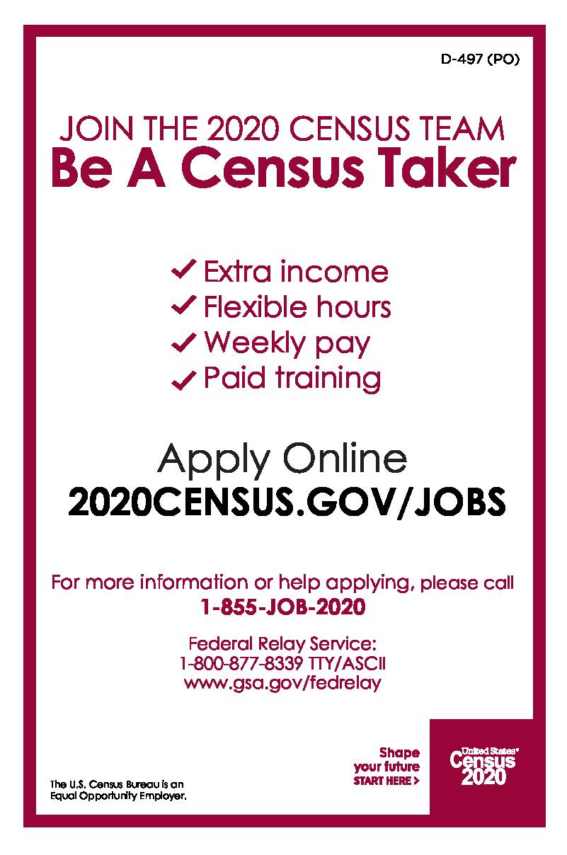 Be A Census Taker