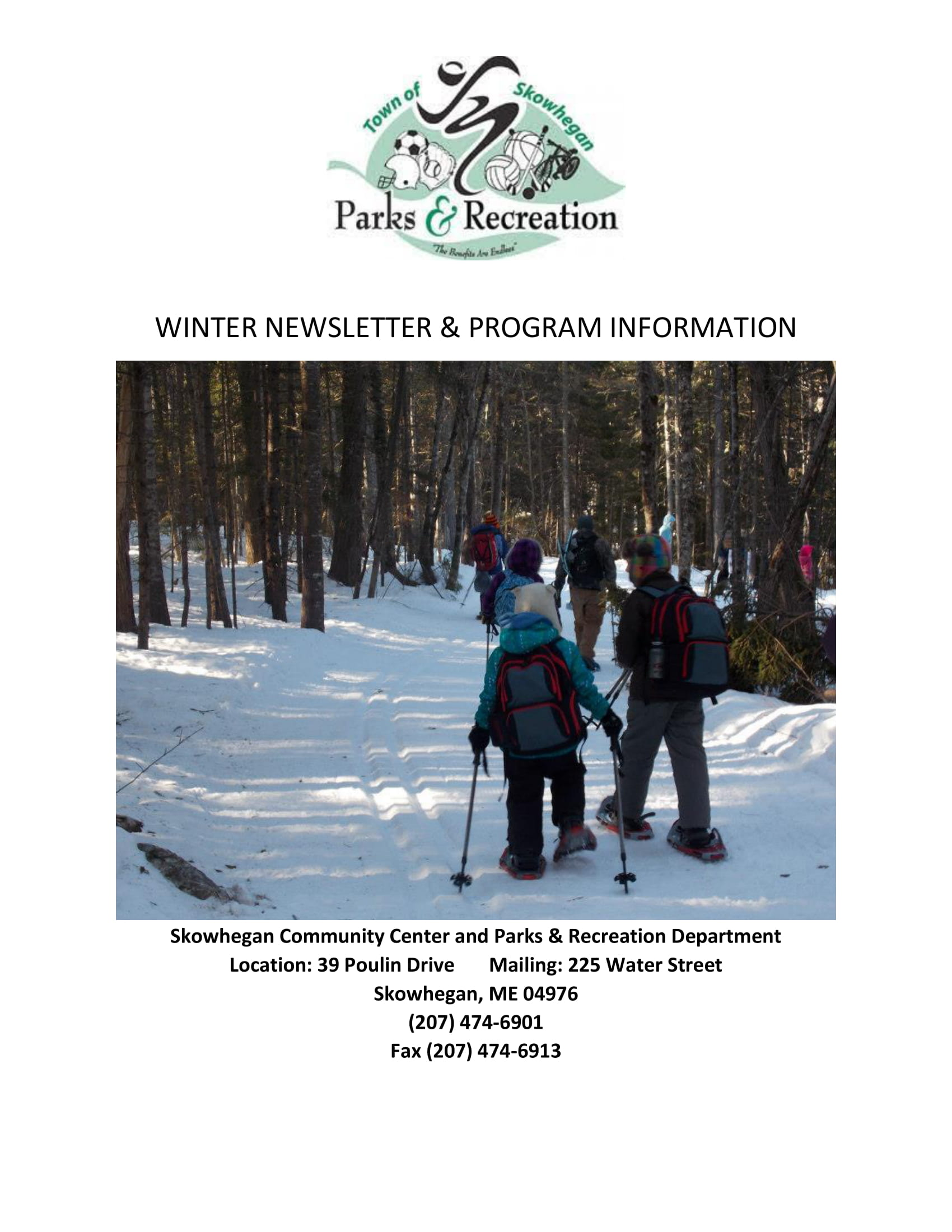 2020 WINTER NEWSLETTER PROGRAM GUIDE-1