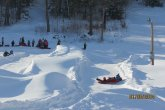 Snowtubing at Eaton Mountain