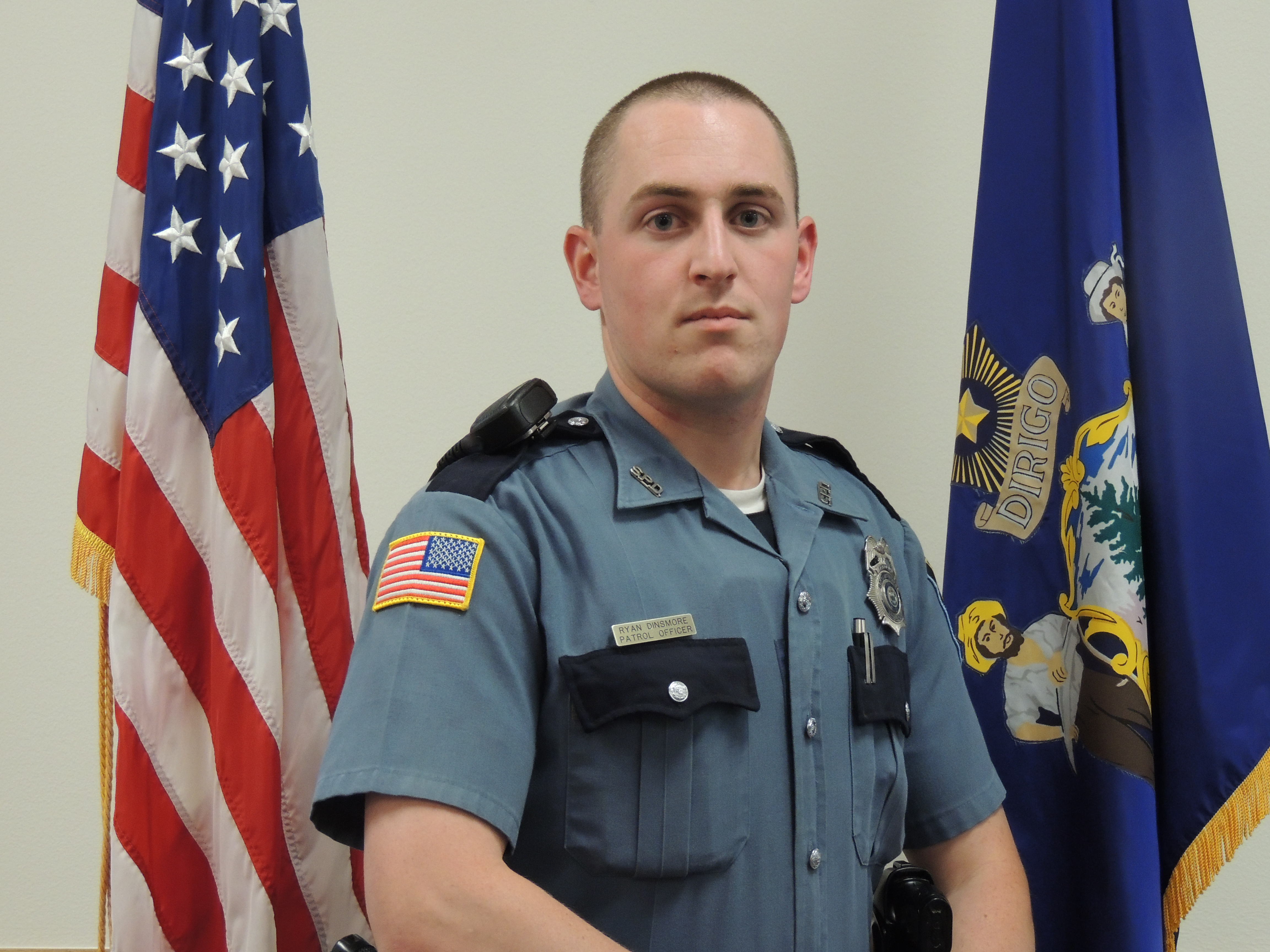 Patrol Officer Ryan Dinsmore